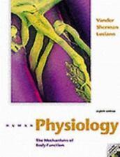 Human Physiology, Dorothy S. Luciano,James H. Sherman,Arthur J. Vander, Good Con