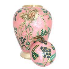 Groß Urne Asche , Pink Garten Design Erwachsene Urne