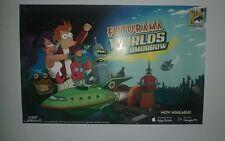 SDCC 2017 Futurama Worlds of Tomorrow 11x17 poster