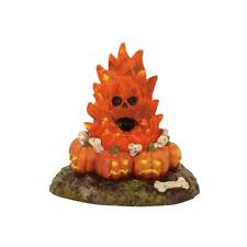 Department 56 Halloween Village FLAMING SKULL BONEFIRE 4057628 BNIB Bonfire