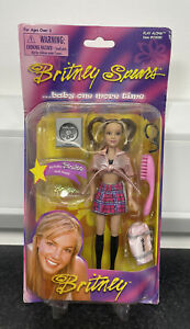 RARE Britney Spears Play Along Baby One More Time Doll Action Figure Pink NEW