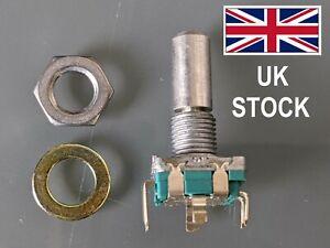 Rotary Shaft Encoder EC11 style, with push switch, UK stock