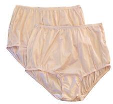 Vanity Fair Nylon Panties size 7, Fawn, 15712, 2 Pair