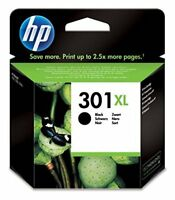 HP 301 XL High Yield Original Ink Cartridge CH563EE - Black - Page Yield: 480
