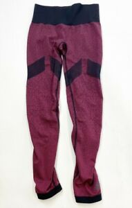 Adidas Compression Leggings Womens Small Red