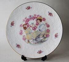 Vintage Royal Doulton Porcelain Valentines Day Plate 1977 Orig Box England
