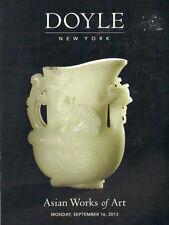 DOYLE Chinese Snuff Bottles Jades Ivory Ceramics Furniture Bronzes Belt Catalog