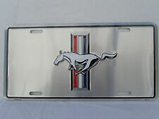 FORD MUSTANG SINCE 1964 LICENSE PLATE CLASSIC TAG PONY EMBLEM for bumper frame