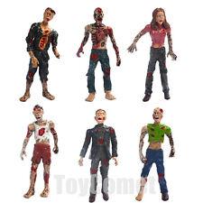 Set of 6 Zombie Terror Corpse Action Figures Play Set