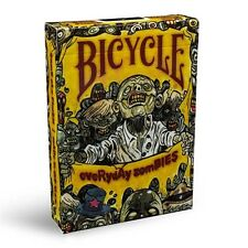 NEW Everyday Zombies Bicycle Playing Cards Deck Poker Size USPCC Limited
