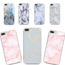 Art Glossy Granite Marble Phone Case Cover Soft TPU For iPhone 7 6 6s 8 Plus SE
