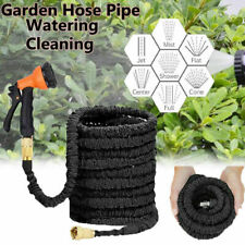 More details for expandable garden hose pipe spray gun flexible expanding stretch pipes 25-200ft