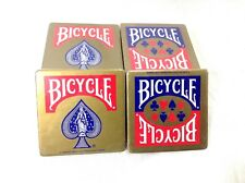 Lot of 20 Beer Man Cave Cork Coasters Bicycle Poker Coasters US Playing Card Co