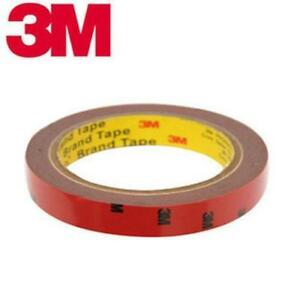 1 X 8mm 3M Double Sided Sticky Car Spoiler Adhesive Tape Home Vehicle Strip DIY