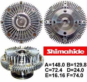FITS 93-00 TOYOTA SUPRA LEXUS GS300 SC300  3.0L FAN CLUTCH  SHIMAHIDE  NEW