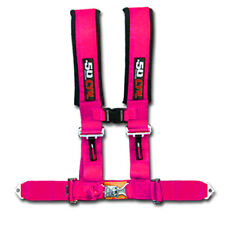 50 Caliber Racing Seat Belt Harness Pink 2in 4 Point Polaris Ranger RZR ACE 2019