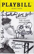 Tennessee Williams The Glass Menagerie Signed Cast Playbill - Sally Field, Finn+