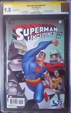 Superman Unchained (2013 DC) #1 CGC SS 9.8 1:100 1x Jim Lee