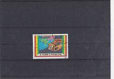 SAINT THOMAS ET PRINCE 1991 SERVICE POSTAL EXPRESS OBLITERES YT 1079A