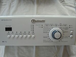 Bauknecht Elektronik Inkl Bedienblende WAT Sensitive 12 Di  Toplader