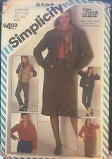 Simplicity Go-Everywhere pattern 6164 Misses' Pants, Skirt, Shirt sz 6 & 8 uncut