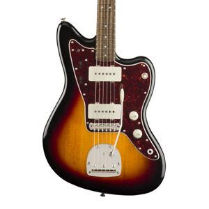 Fender Squier Classic Vibe 60s Jazzmaster, 3 Tone Sunburst, Laurel (NEW)