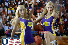"1/6 NBA Lakers Cheerleader Costumes Set A For 12"" TBLeague PHICEN Figure U.S.A."