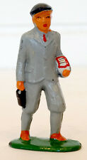 Vintage BARCLAY Lead #616 SCHOOL BOY w/ BOOKS Toy Soldier