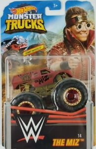 Hot Wheels Monster Truck WWE 1:64 The Mix #14