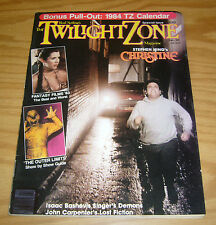 Rod Serling's Twilight Zone Magazine vol. 3 #6 VF/NM w/ calendar - stephen king