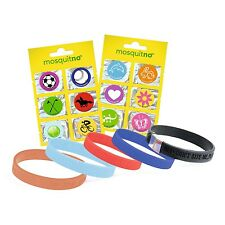 Mosquitno Travel Pack Mosquito and Insect Repellent 5 x Bracelets & 12 x Sticker