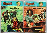 Sigurd der Ritterliche Held Sonderband Nr.1 und 6 Hefte Lehning Comic 50er # 780