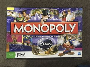 Disney Monopoly Includes Gold Tinkerbell | Complete