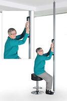 Transferhilfe, Boden-Decken Stange, Aufstehhilfe für Senioren, Haltestange