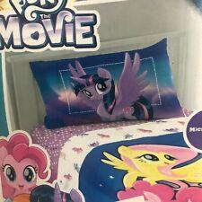 My Little Pony Twin Single Sheet Set 3 Piece The Movie NIP