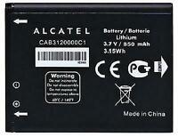 New Original Battery OEM Alcatel CAB3120000C1 510A OT-800 OT-880a OT-710D 768T79