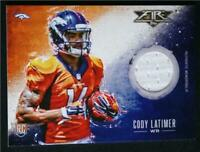 2014 Topps Fire Relics #FRCL Cody Latimer Jersey - NM-MT