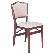 Stakmore French Upholstered Folding Chair - Set of 2