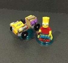 Dimensiones de LEGO diversión Pack Simpsons Bart Simpson 71211