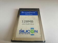 SILICONDRIVE 128MB  PC CARD ssd-p12m-3012
