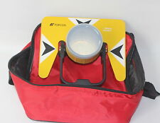 Yellow Metal Prism Set Withbag For Topcon Nikon Sokkia Pentax Total Station Survey