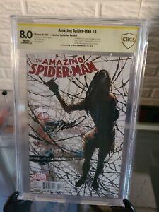 Amazing Spider-Man 4 1:10 Ramos variant CBCS (not CGC) 8.0 1st Silk Cindy Moon