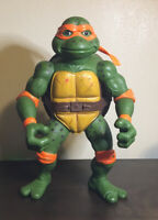 1992 TMNT GIANT MOVIE STAR MIKE MICHELANGELO PLAYMATES VINTAGE ACTION FIGURE