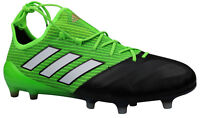 Adidas ACE 17.1 FG Herren Fußballschuhe Leder Nocken grün BB4322 Gr. 39-48,5 NEU