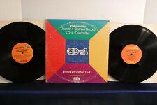 Introductions To CD-4: Panasonic Discrete 4, Quadra Disc DPD2-0044, 1973, 2 LPs