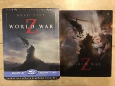 World War Z (Blu Ray 3D/2D/DVD Steelbook) Lenticular