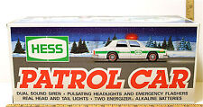 1993 Amerada Hess Patrol Car Gasoline Police Emergency Vintage Unused NIB Sweet!