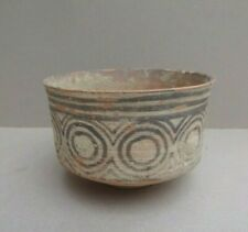 ANTIQUE ANCIENT INDUS VALLEY POTTERY BOWL WITH MUSEUM CERTIFICATE 2600 -1900 BC