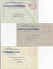 North Western Woollen Mills Stawell Victoria group 3 advertising covers 1950's