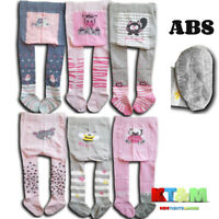 Girls Baby Toddler Cotton ABS Tights Silicone Anti slip Pants Warmers 6-24Months